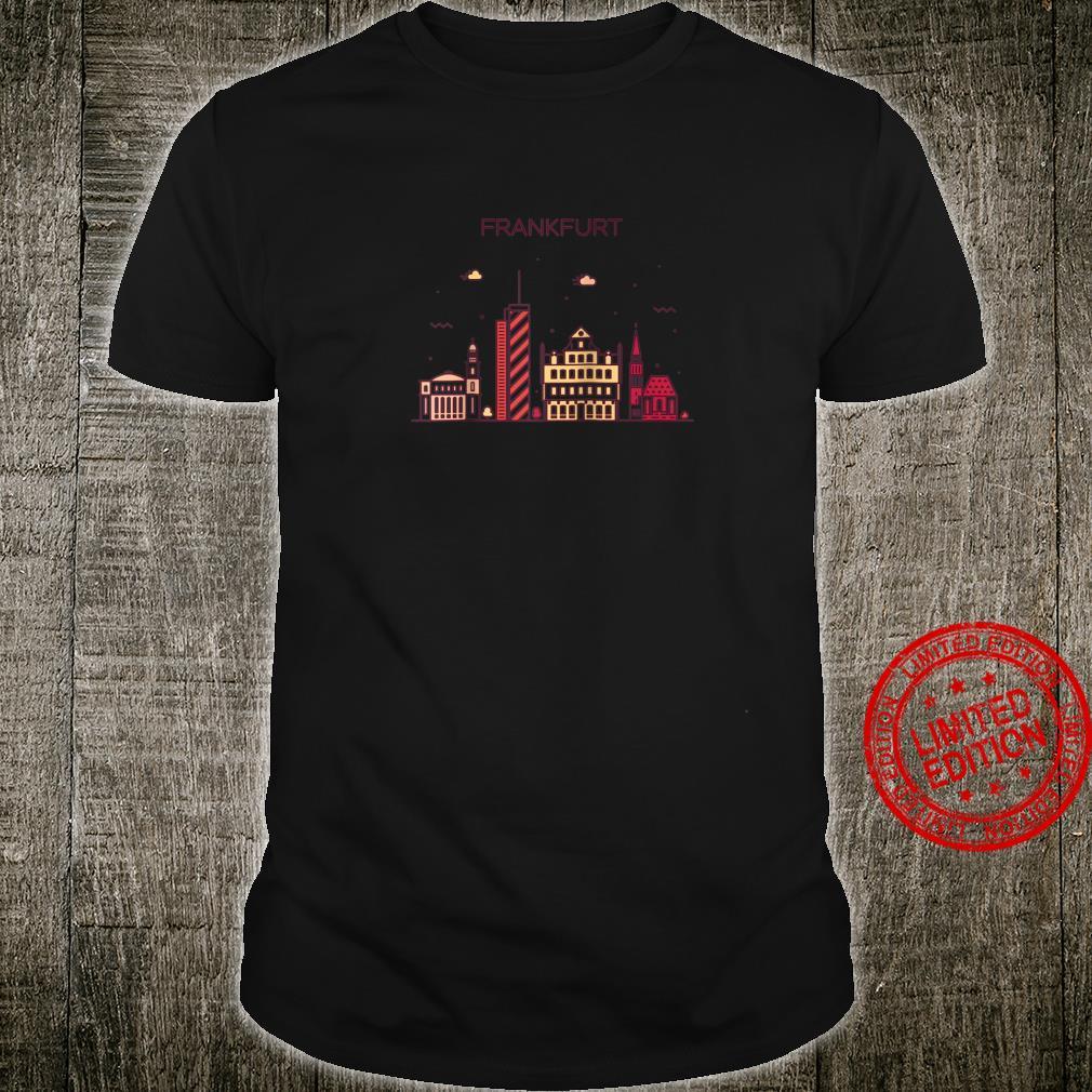 Frankfurt Home State Shirt I Love Vintage Tee Shirt