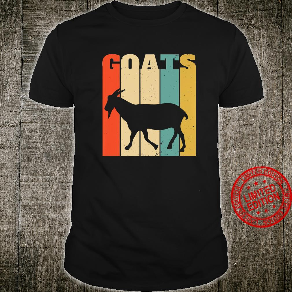 Mens Goat Farmer Retro Style Distressed Shirt