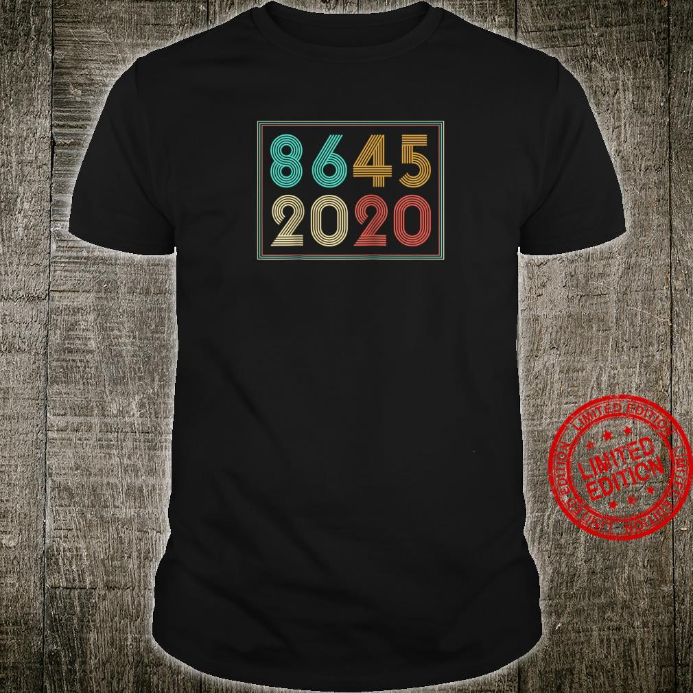 Vintage Anti Trump Election 86 45 2020 Shirt