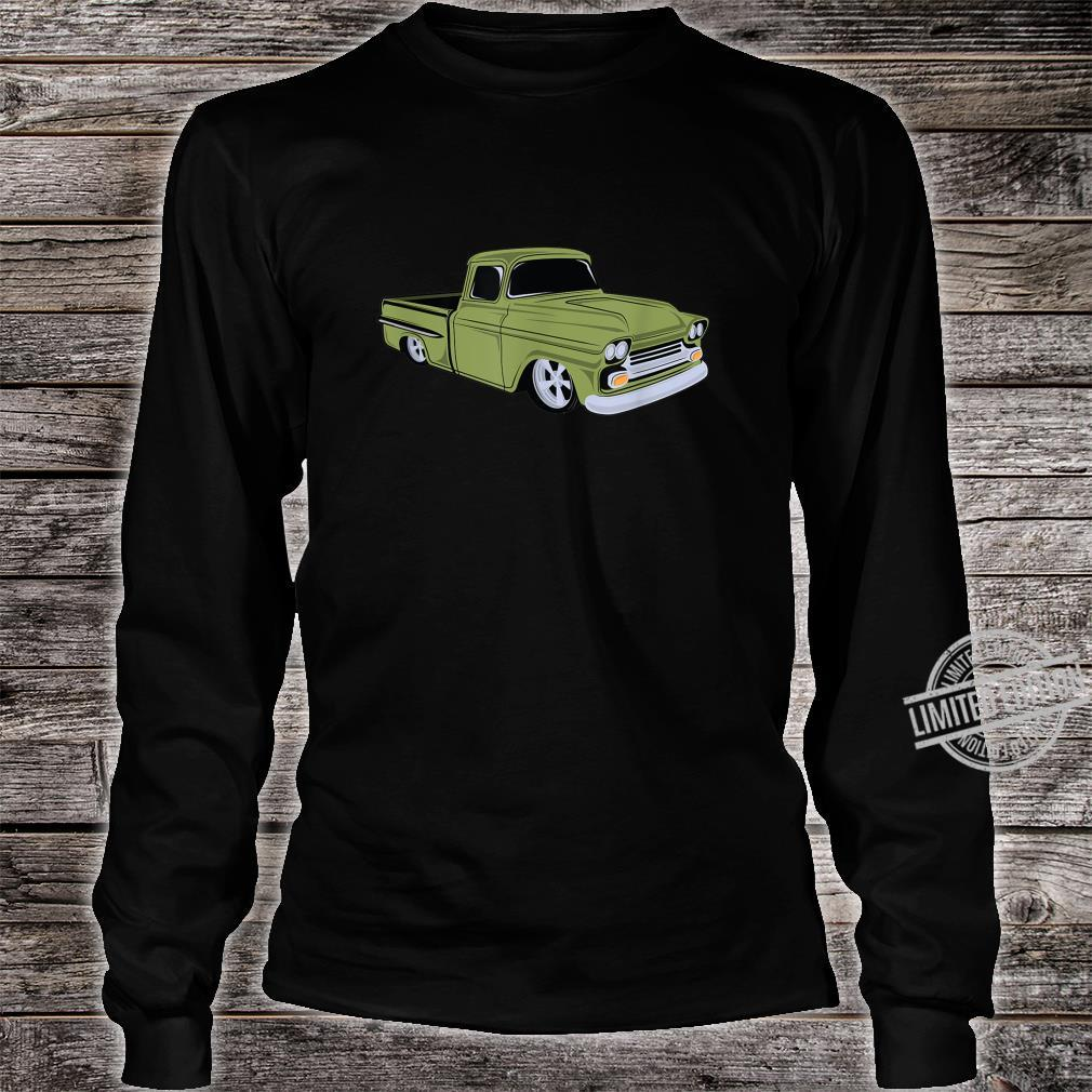 Vintage Lowrider Hot Rod Truck Shirt long sleeved