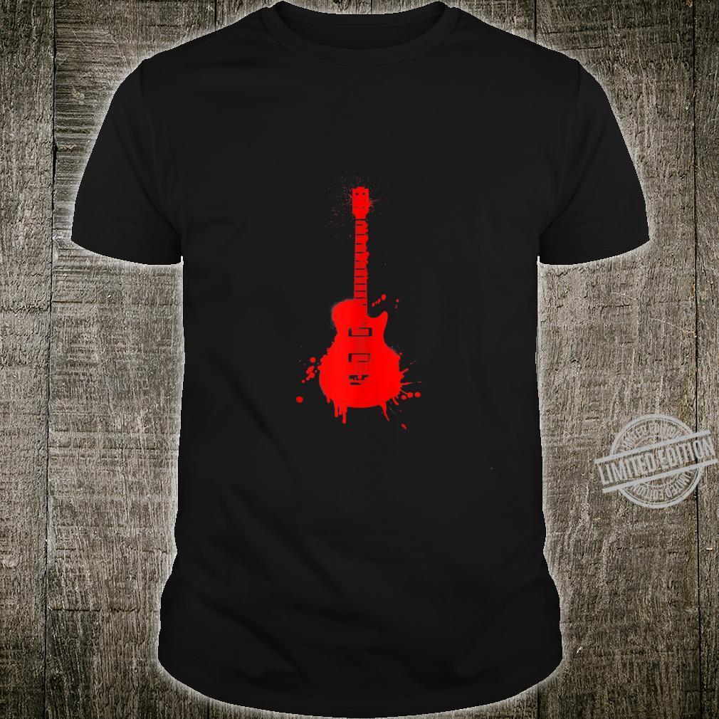 Vintage Musician Electric Guitar Music Band Guitarist Shirt