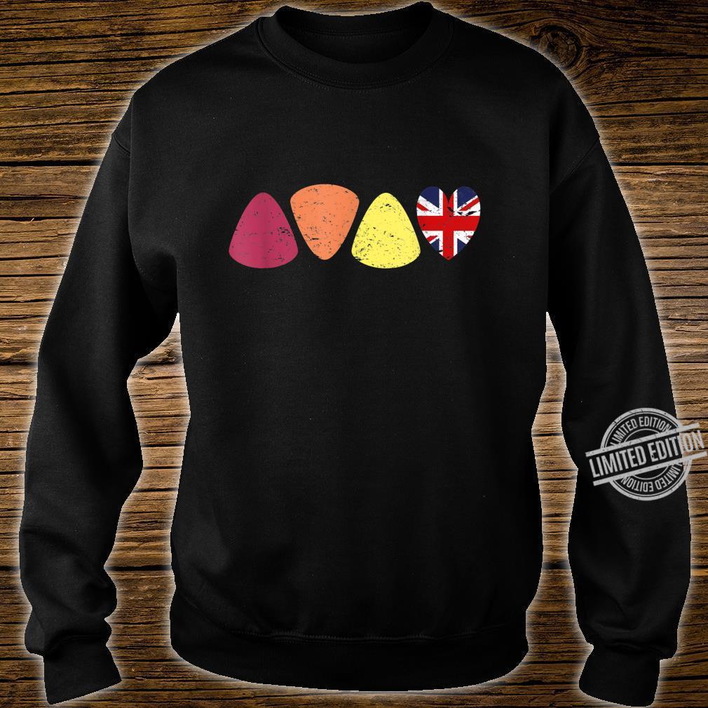 Vintage Retro Guitar Picks for Guitarists & Bassists Shirt sweater