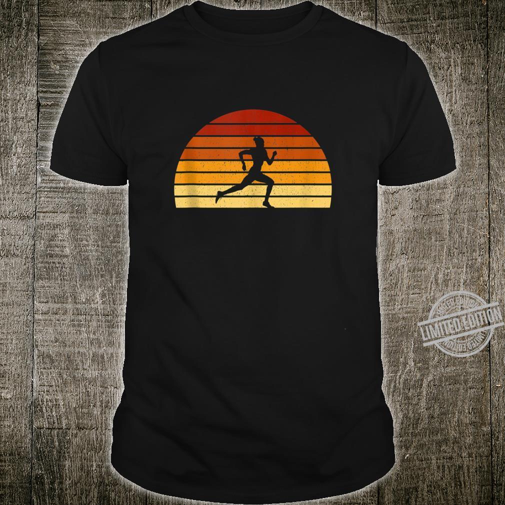 Vintage Sunset Running For Runners Shirt