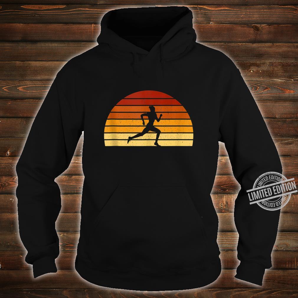 Vintage Sunset Running For Runners Shirt hoodie