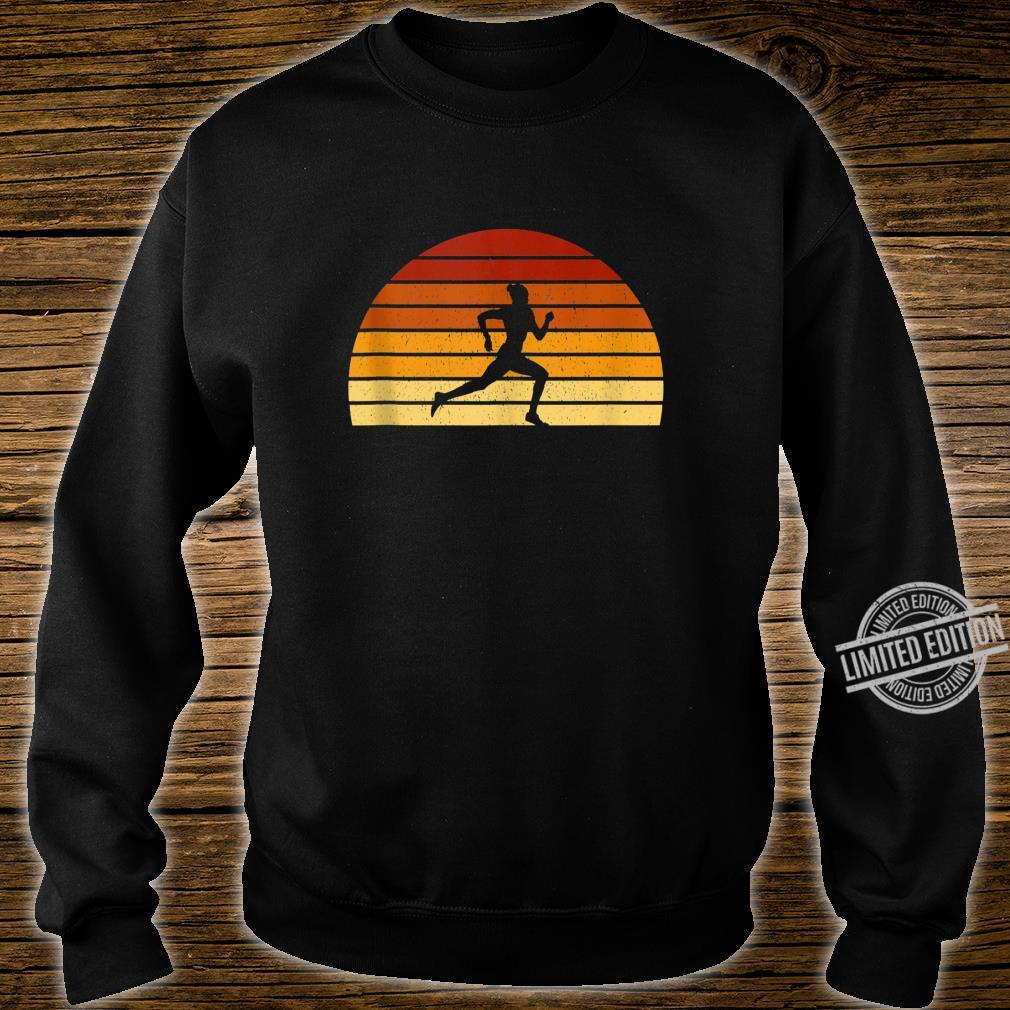 Vintage Sunset Running For Runners Shirt sweater