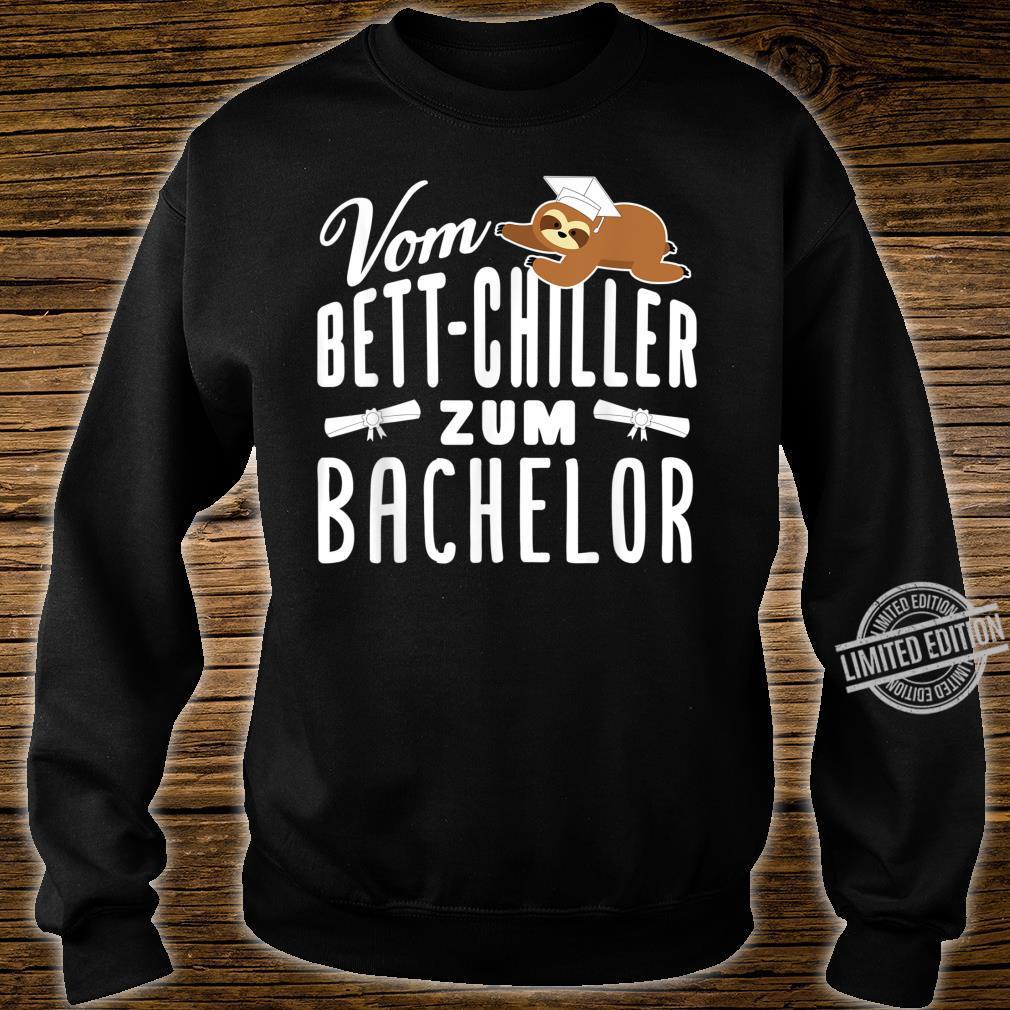 Vom BettChiller zum Bachelor lustiges Faultier Geschenk Shirt sweater