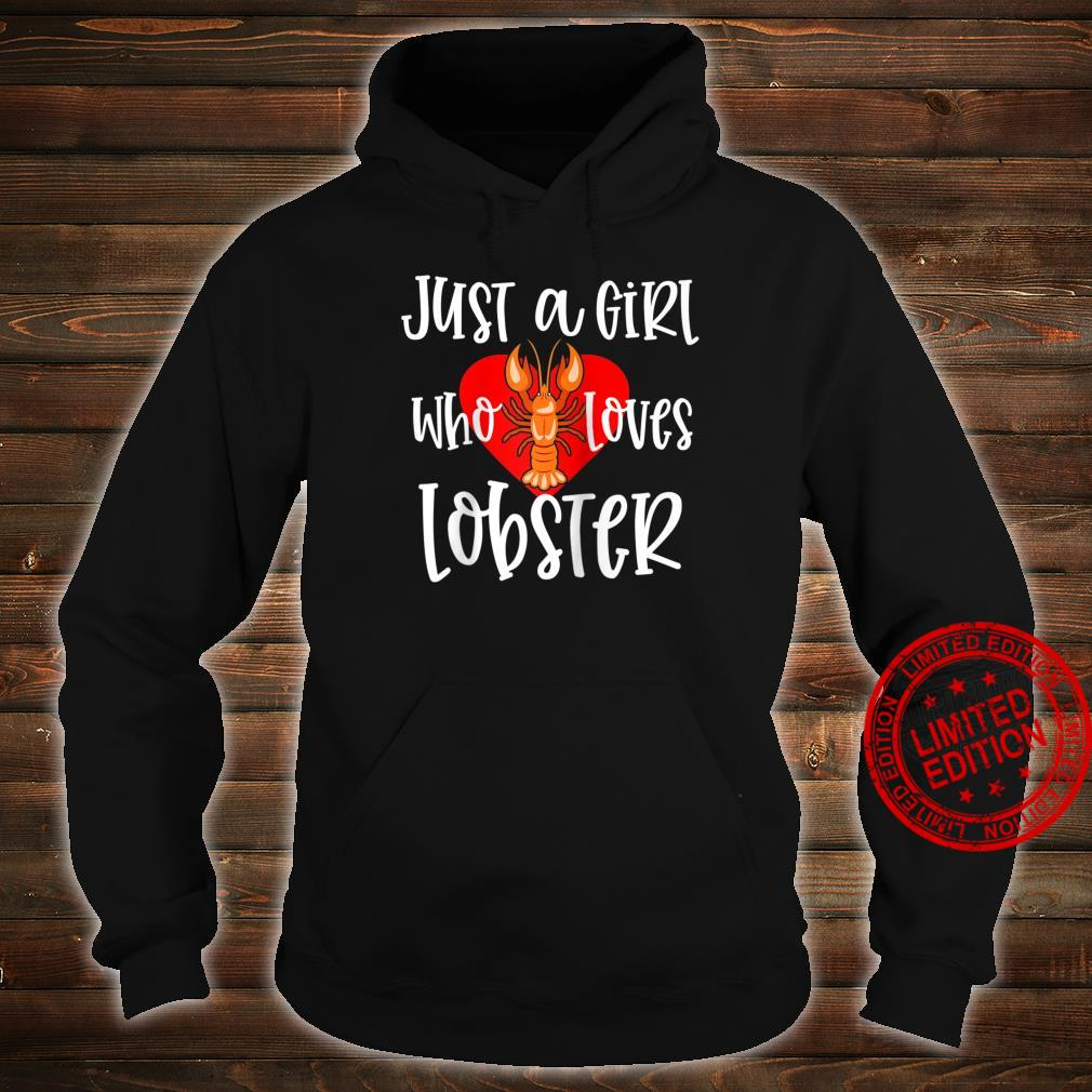 Womens Lobster Just A Girl Maine Seafood Festival Shirt hoodie