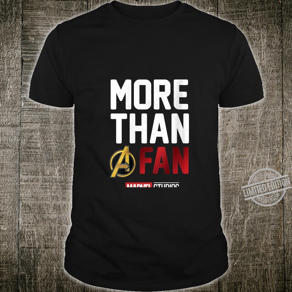 Womens Marvel Studios More Than A Fan Shirt